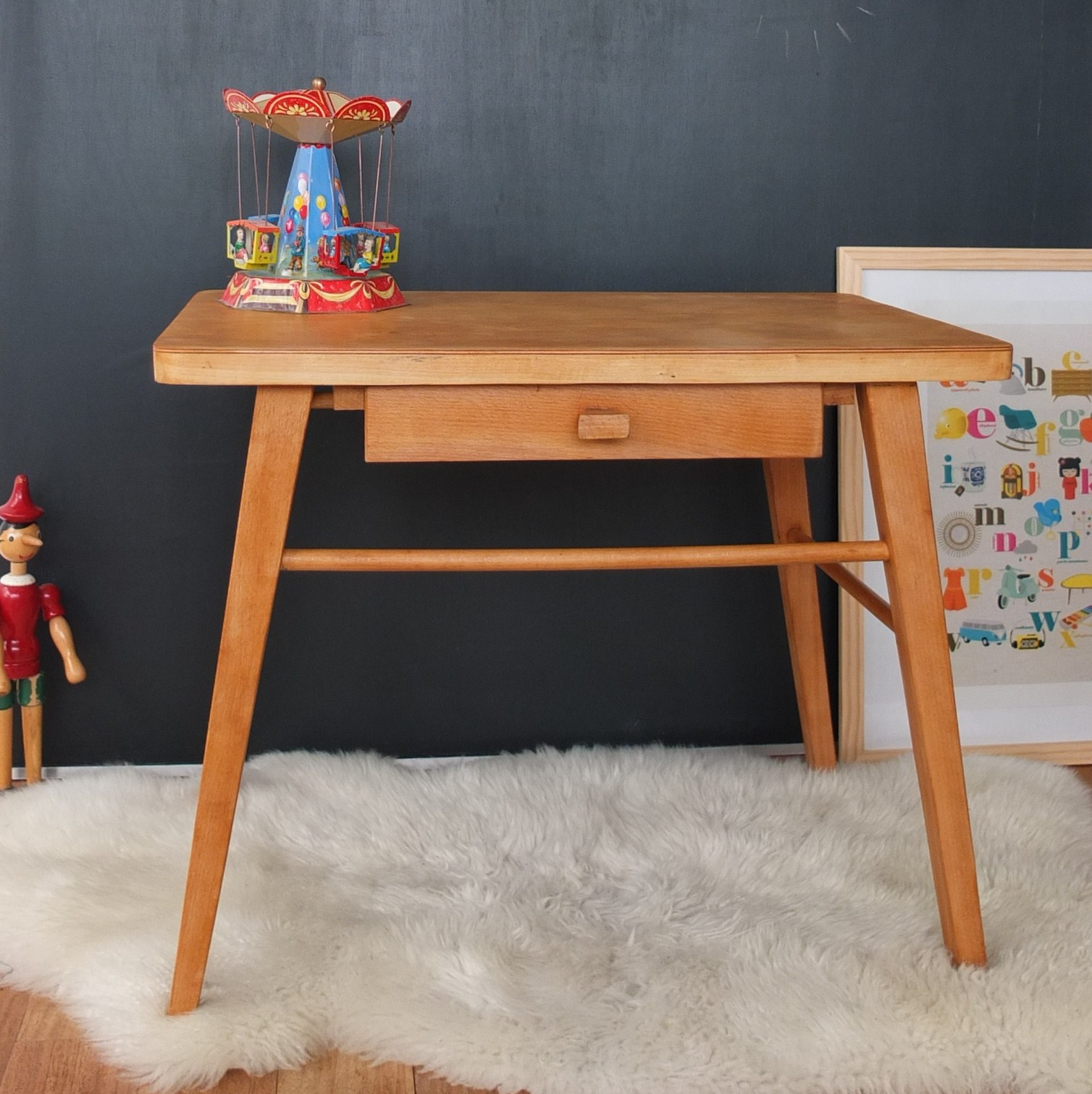 bureau maternelle baumann vintage magic. Black Bedroom Furniture Sets. Home Design Ideas