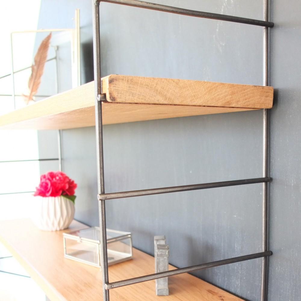 tag re string vintage m tal et ch ne vintage magic. Black Bedroom Furniture Sets. Home Design Ideas