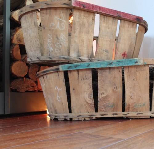 anciennes cagettes lattes en bois vintage magic. Black Bedroom Furniture Sets. Home Design Ideas